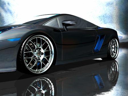ruedas de coche: coche deportivo