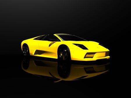 sports car photo