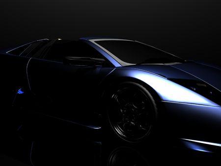luxury cars: sports car Stock Photo