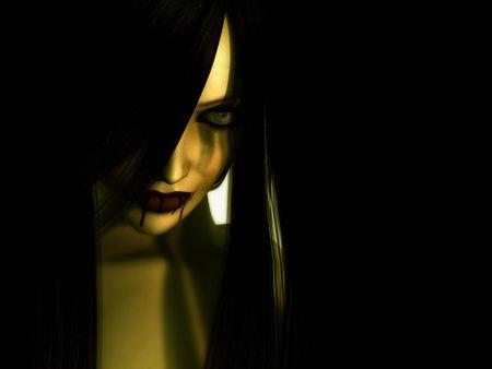 vampire evil woman Banco de Imagens
