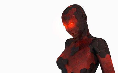 Female androide Archivio Fotografico - 5407903