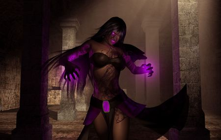 female necromancer Imagens