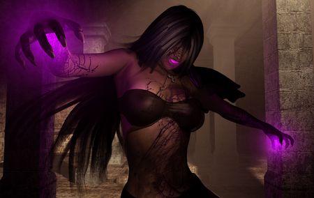 necromancer: evil wizard