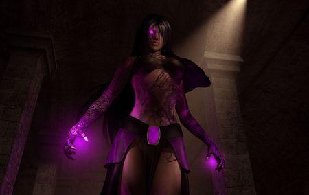 enchantress: necromancer