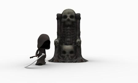 reaper: cute little grim reaper