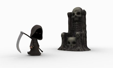 grim reaper reaper: cute little grim reaper