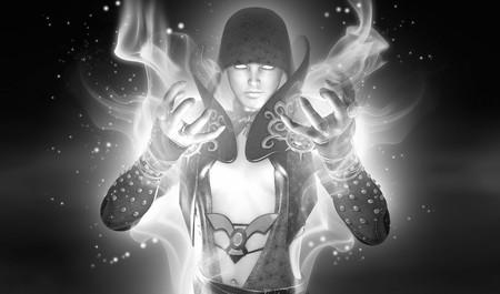 Wizard woman  Stock fotó