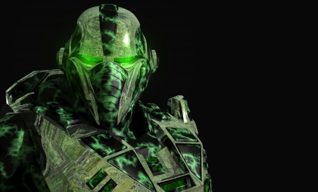 technology: Future soldier in advanced armor