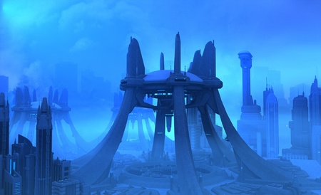 Futuristische stad