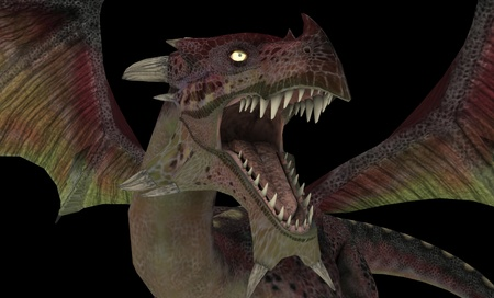 wyvern: Red dragon