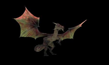 dragon: Red dragon