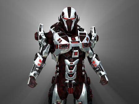 krieger: Erweiterte futuristischen Soldaten