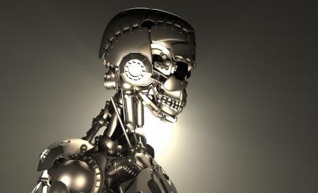 Advanced robot Stock Photo