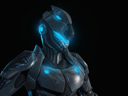 robot: Super soldado avanzada