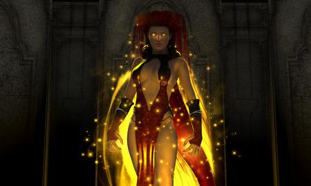 diviner: Wizard Stock Photo