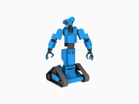 medical technology: medical robot Stock Photo