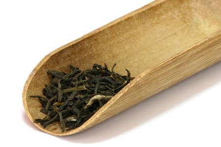 Tea leaves. Stock Photo