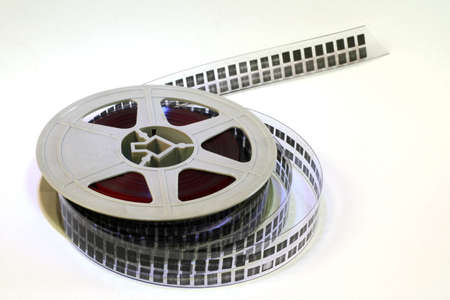 A strip of 16mm film.