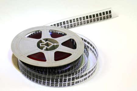 A strip of 16mm film.