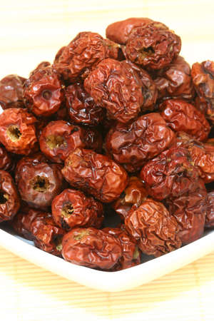 Dried red dates.