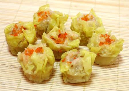 Meat dumplings. photo