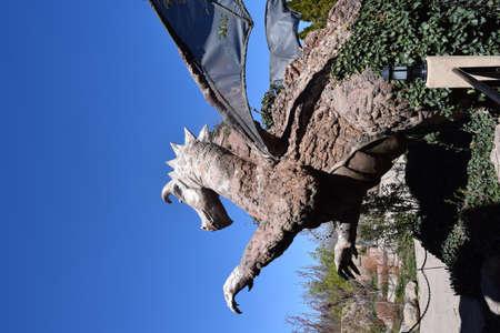 albuquerque: Dragon at the Albuquerque Botanical Garden