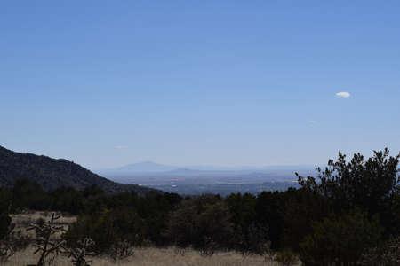 albuquerque: Albuquerque From a Distance Stock Photo