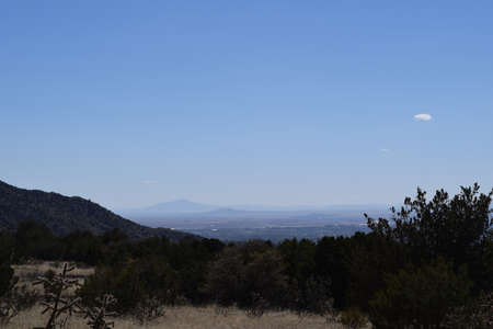 Albuquerque From a Distance Banco de Imagens