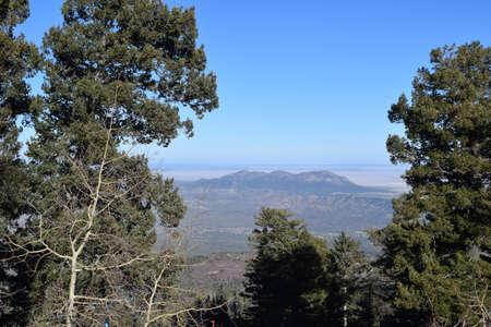 Sandia Mountains Banco de Imagens