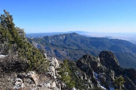 Sandia Mountains Outside of Albuquerque