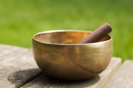 singing bowl photo