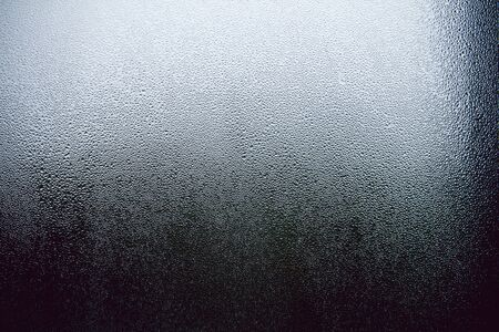 Condensation droplets on a window