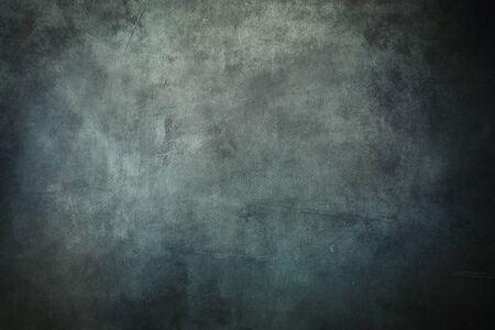 Blue grungy backdrop with dark vignette borders Banco de Imagens