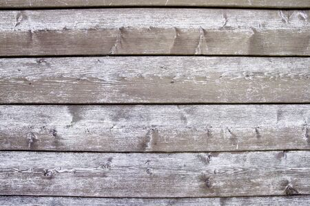 Old wooden logs wall background