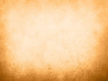 Orange colored old paper with dark vignette borders
