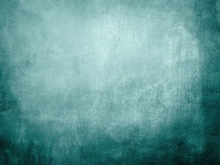 Grungy blue backdrop with dark vignette borders