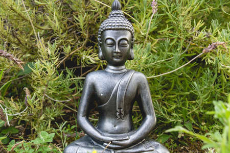 Buddha statue in the garden Banco de Imagens