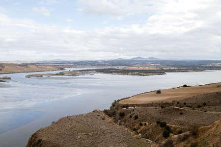 Tagus river basin in Toledo, Spain