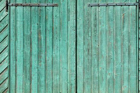 Pale green wooden planks wall Reklamní fotografie