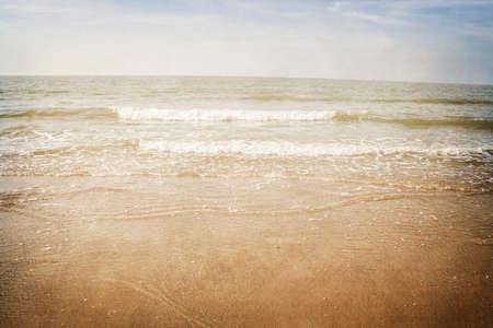 Summertime beach vintage edition Banque d'images