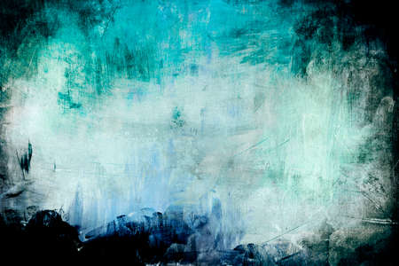 Blue color abstract painting background or texture Reklamní fotografie