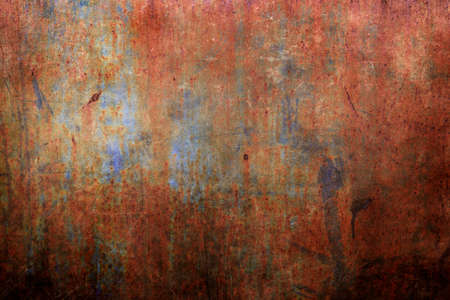 Old rusted wall grungy background or texture Banque d'images
