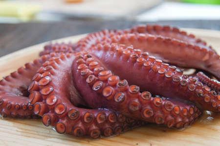 Boiled octopus Imagens