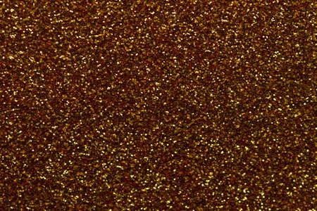 Golden glittering abstract christmas background Foto de archivo