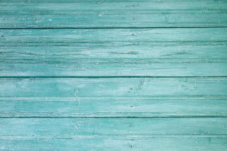 Old blue wooden planks wall