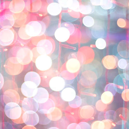 Glittering bokeh lights abstract background