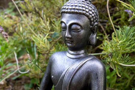 Buddha decorative statue Banco de Imagens