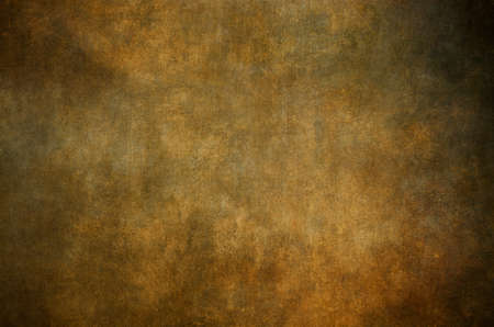 Golden grungy wall background or texture