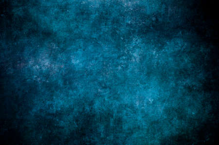 Blue grungy wall background or texture Stock fotó
