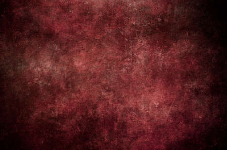 Red grungy wall background or texture